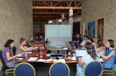 Dr Stella Tsani, participated in the 1st Interim meeting for the Reconnect project, in Larnaca, Cyprus, 12-14 June.