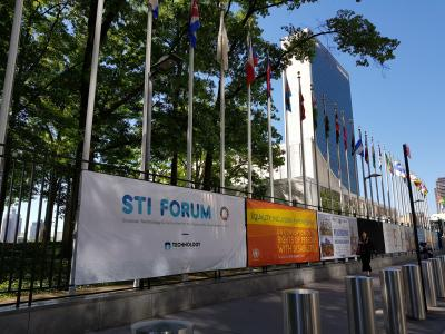 The third Science Technology and Innovation (STI) forum, also known as the Multi-stakeholder Forum on Science, Technology and Innovation for SDGs was held at the United Nations headquarters in New York on 5,6 June 2018.
