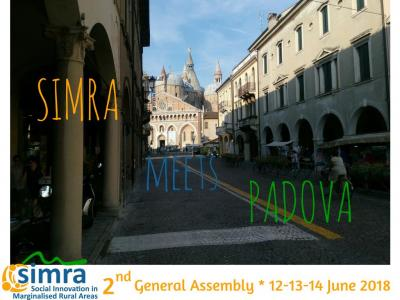 H2020 Social Innovations in Marginalized Rural Areas (SIMRA) project meeting in Padova (June 12 – 14, 2018).
