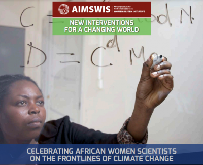 AIMS Women in Science (AIMSWiS) Initiative launches 2nd publication to showcase African Women in Climate Science