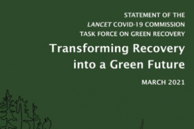 STATEMENT OF THE LANCET COVID-19 COMMISSION TASK FORCE ON GREEN RECOVERY