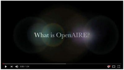 What is OpenAIRE?
