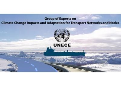 """Impacts of extreme rainfall to transport networks"" presentation at UNECE"