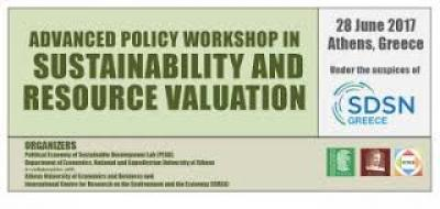 "EAERE supported event: Advanced Policy Workshop in ""Sustainability and Resource Valuation"""